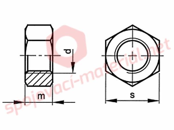 Matice Din 934 M5 10 Spojovaci Material Net